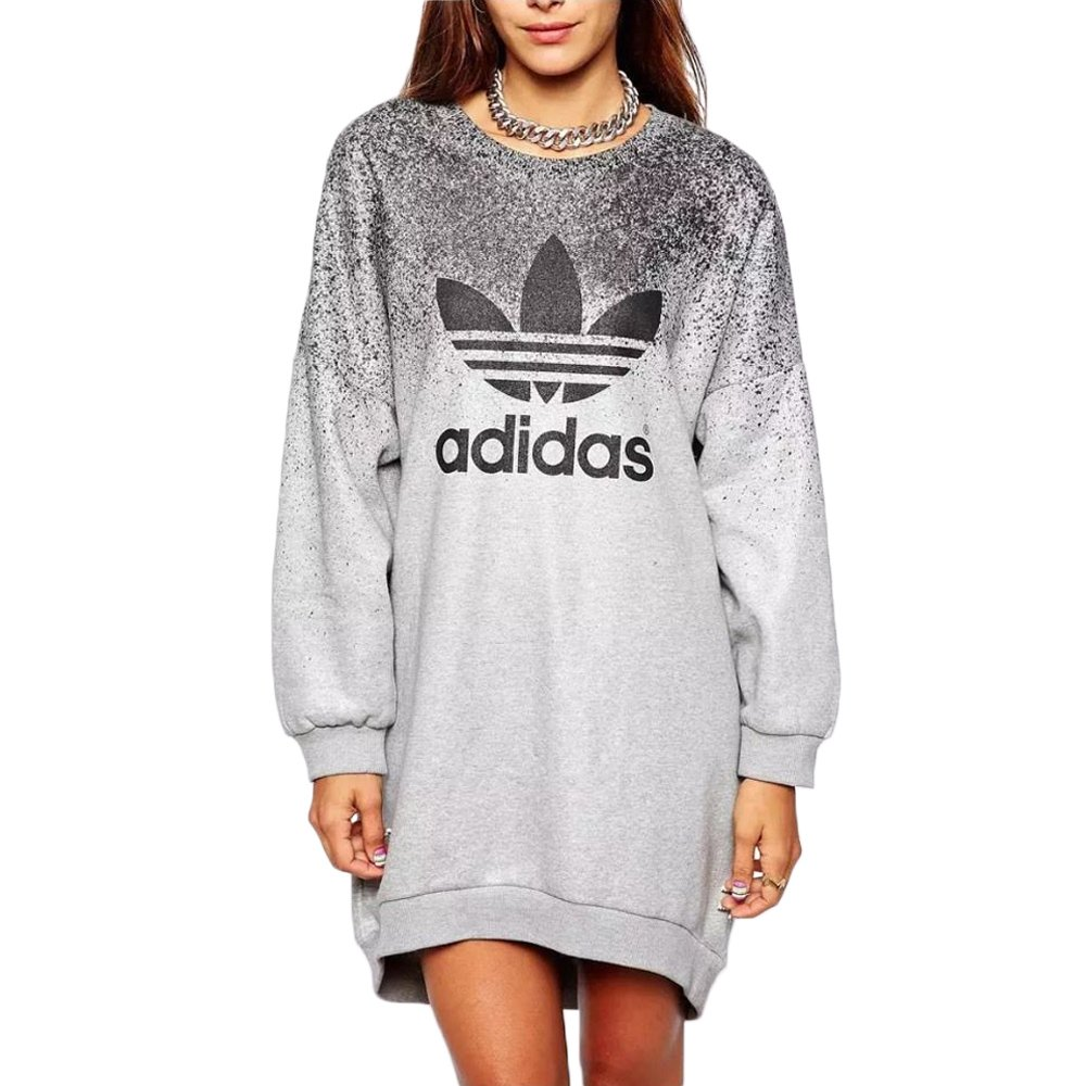 adidas originals x rita ora damen sweat dress sweatshirt. Black Bedroom Furniture Sets. Home Design Ideas