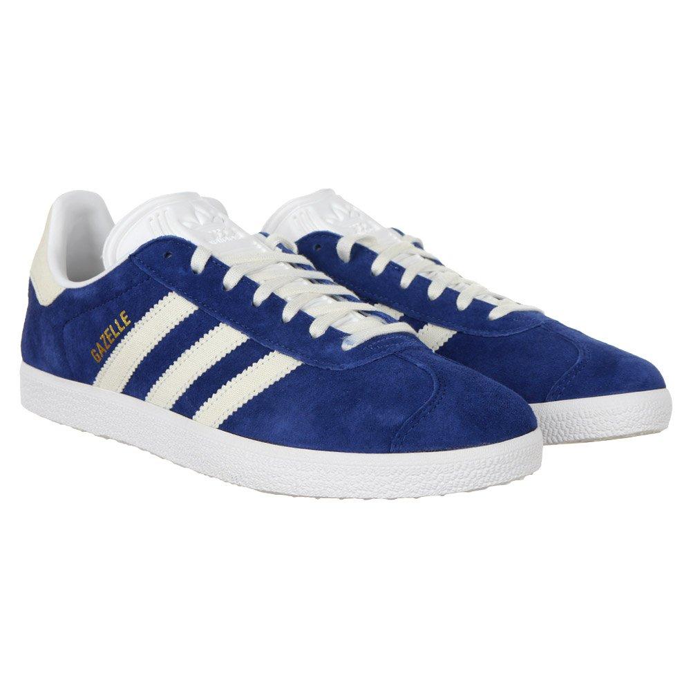 Détails sur Adidas Originals Gazelle Trainer Chaussure Homme Femme Daim Baskets Bleu afficher le titre d'origine