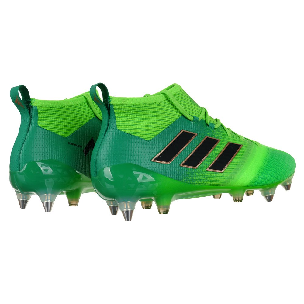 Details about Adidas Performance Ace 17.1 Primeknit SG Football Shoe Mens Football Shoes Green show original title