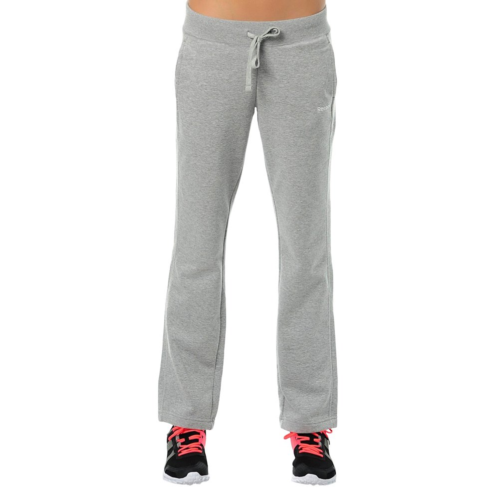Details about Ladies Reebok Elements Open Hem French Terry Pant Trousers Grey Training Jogging show original title