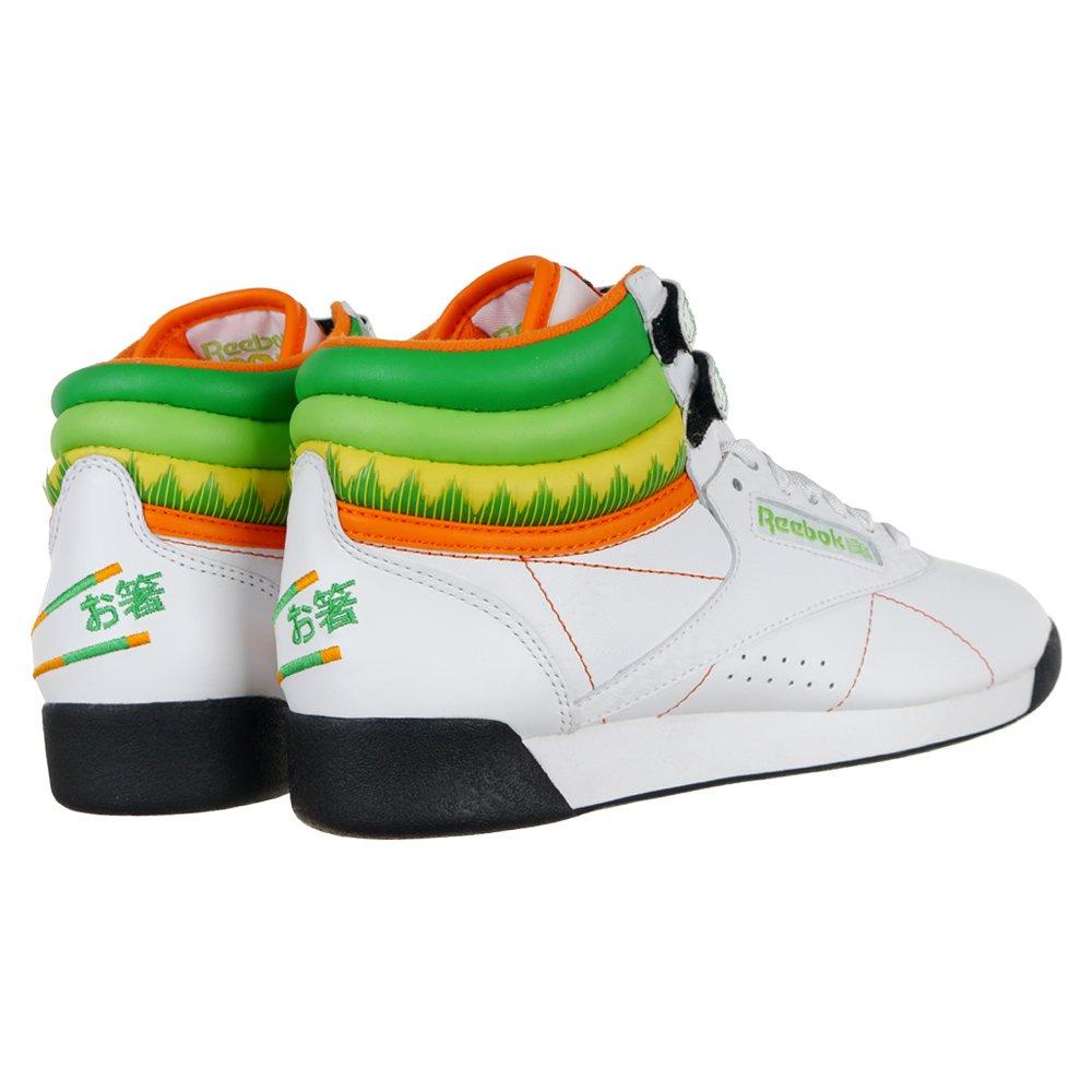 Reebok Classic Freestyle High Tops Sushi Damen Schuhe