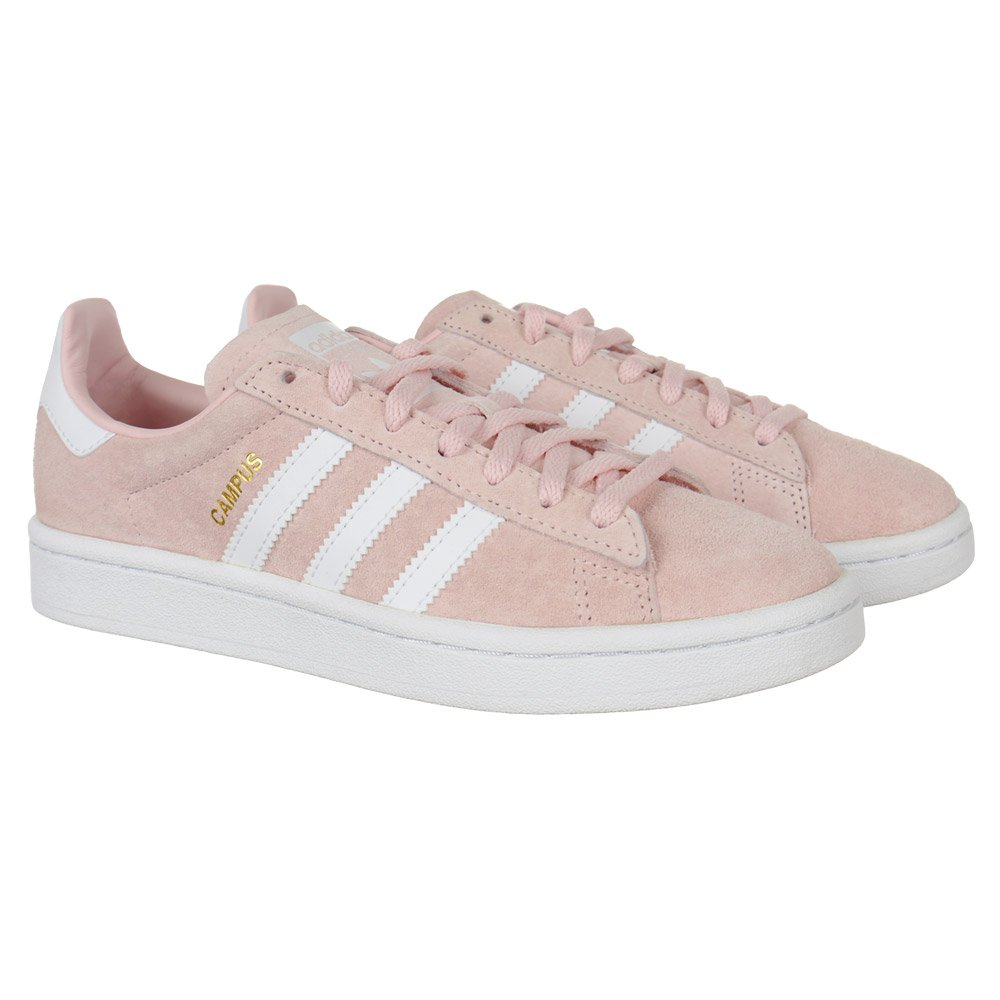 Details about Adidas Campus Womens Pink Suede Sneakers Casual Shoes Sports Shoes show original title