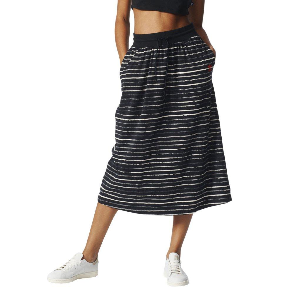 wo zu kaufen attraktiver Stil Online-Verkauf Details about Adidas Damen Originals lange Logo Rock schwarz (BK5888)