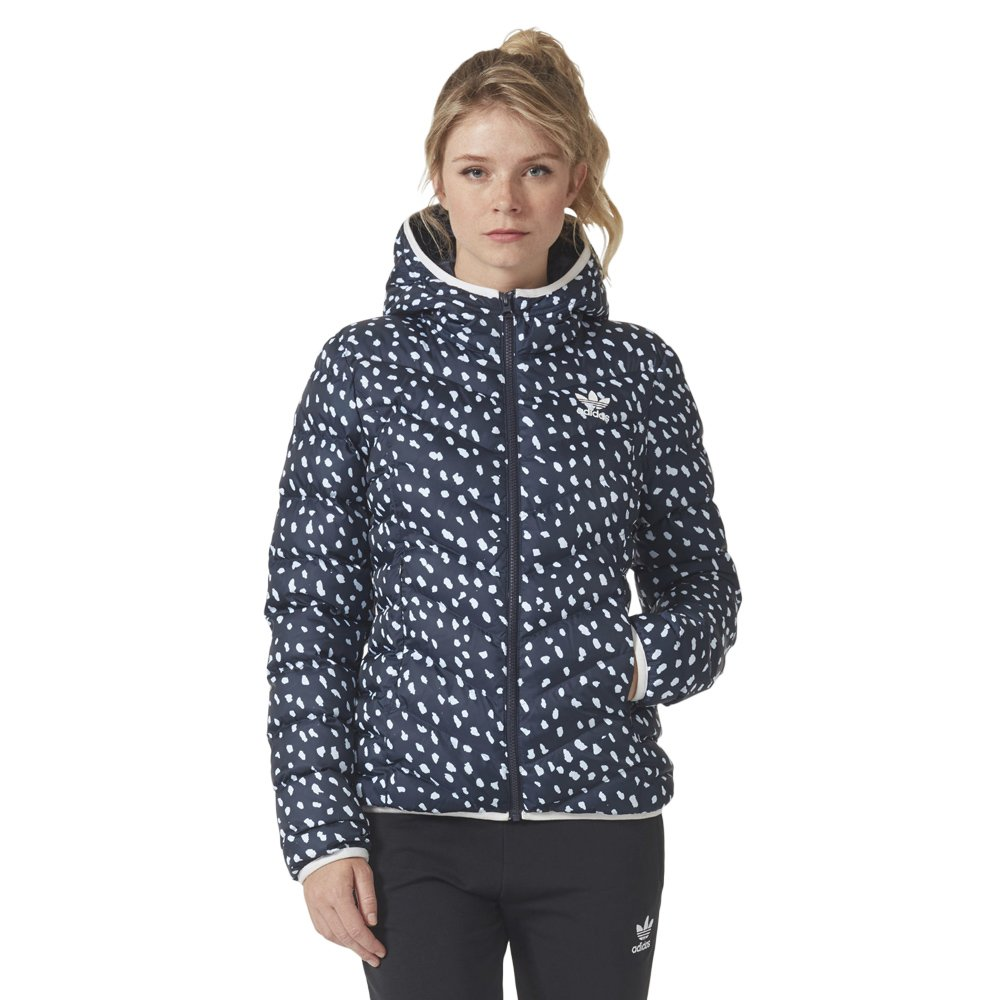 save off 2018 shoes factory authentic Details about Adidas Originals Slim AOP All Over Print Ladies Winter  Jacket- show original title
