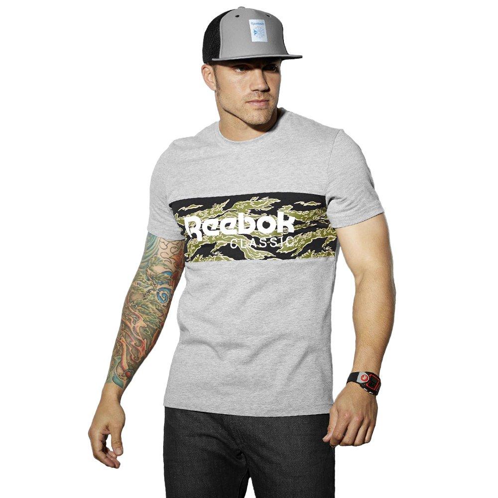 9d235db8b Details about Reebok Classic F Arch Stripe T-shirt / Tiger Tee Herren  Casual Funktionsshirt XL