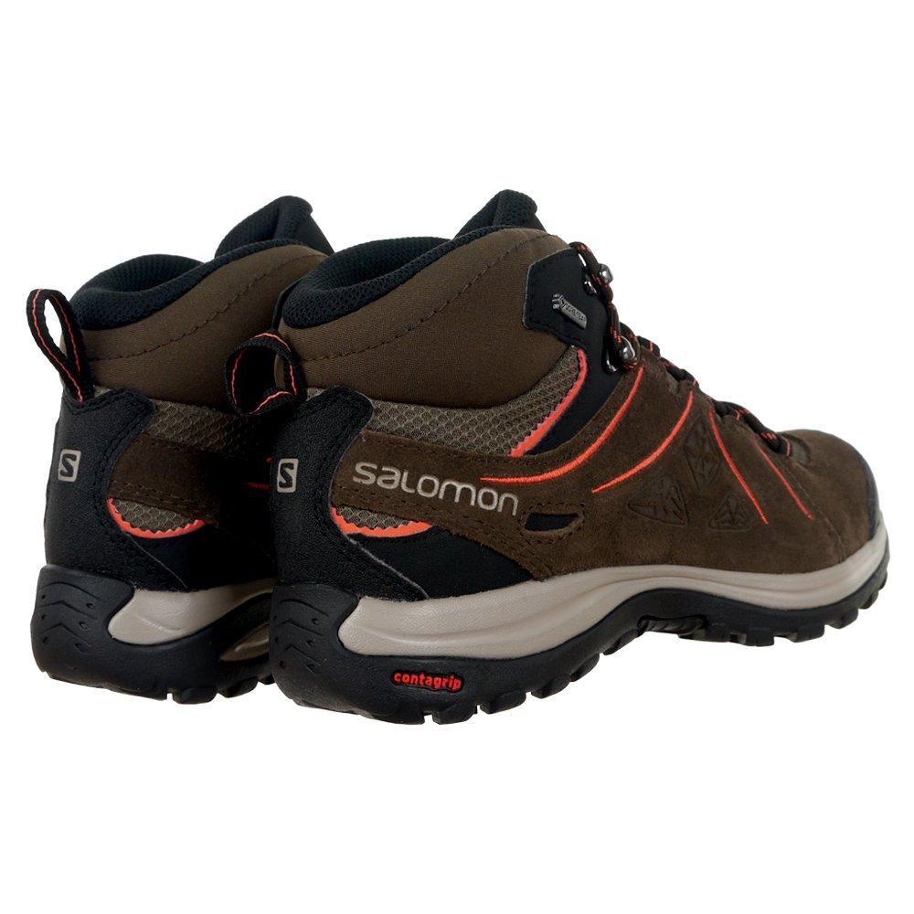 Detalles de Salomon elipse 2 mid Leather Gore Tex señora botín de senderisml outdoor Hiking zapatos ver título original