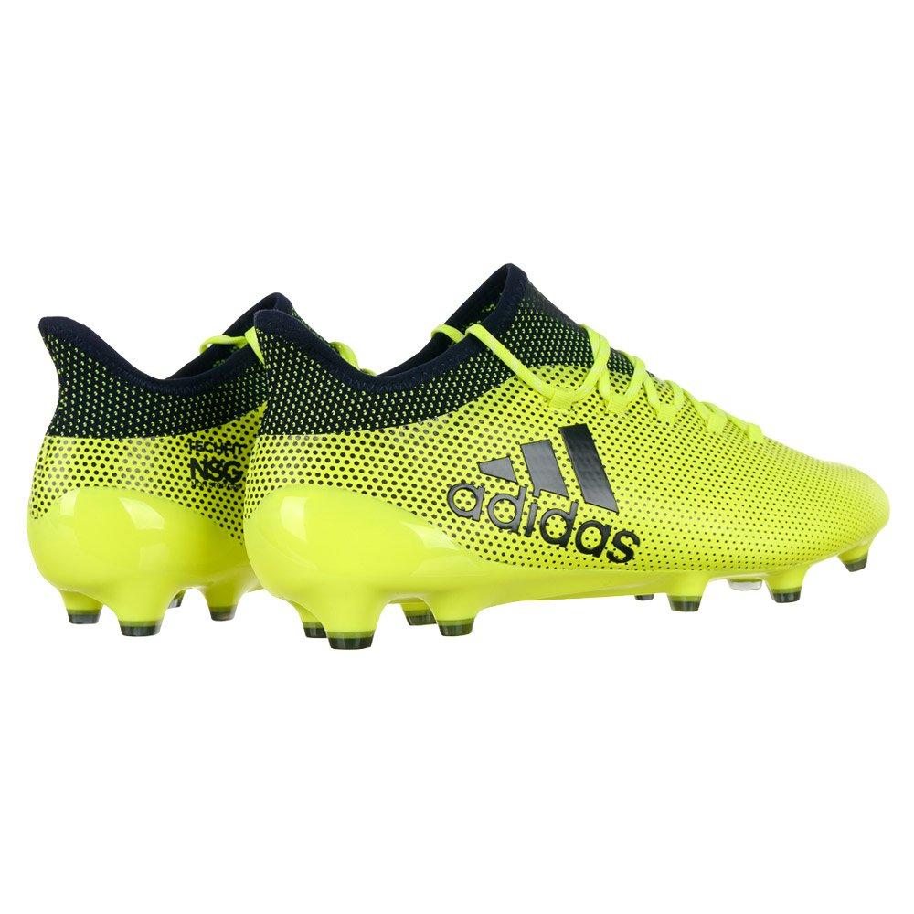 Details zu adidas Performance TechFit X 17.1 FG Fußballschuh Herren Fußballschuhe Gelb