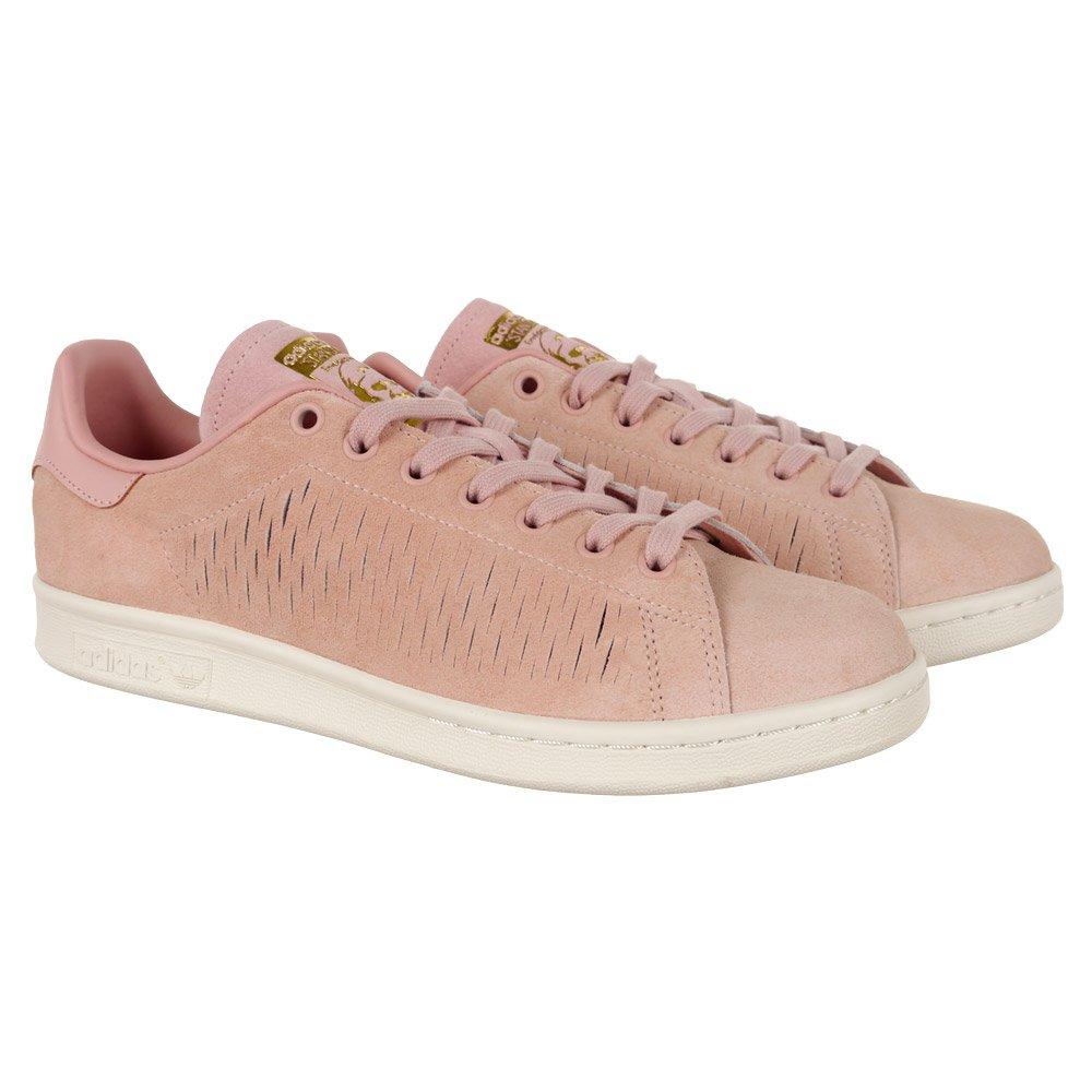 Details zu adidas Originals Stan Smith W (rosa altweiss) damen sneaker schuhe